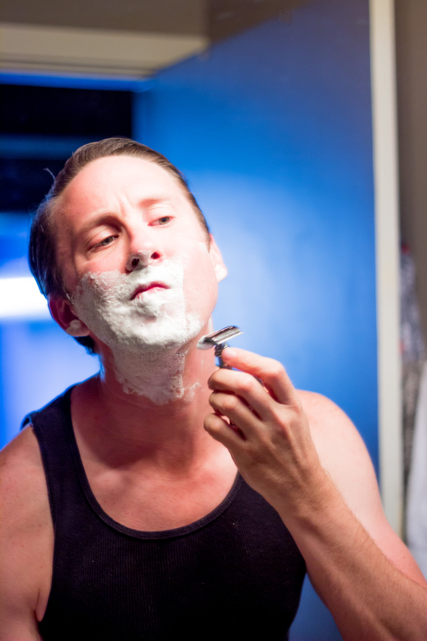 Men's Grooming Tips with the Art of Shaving on Belle Meets World blog