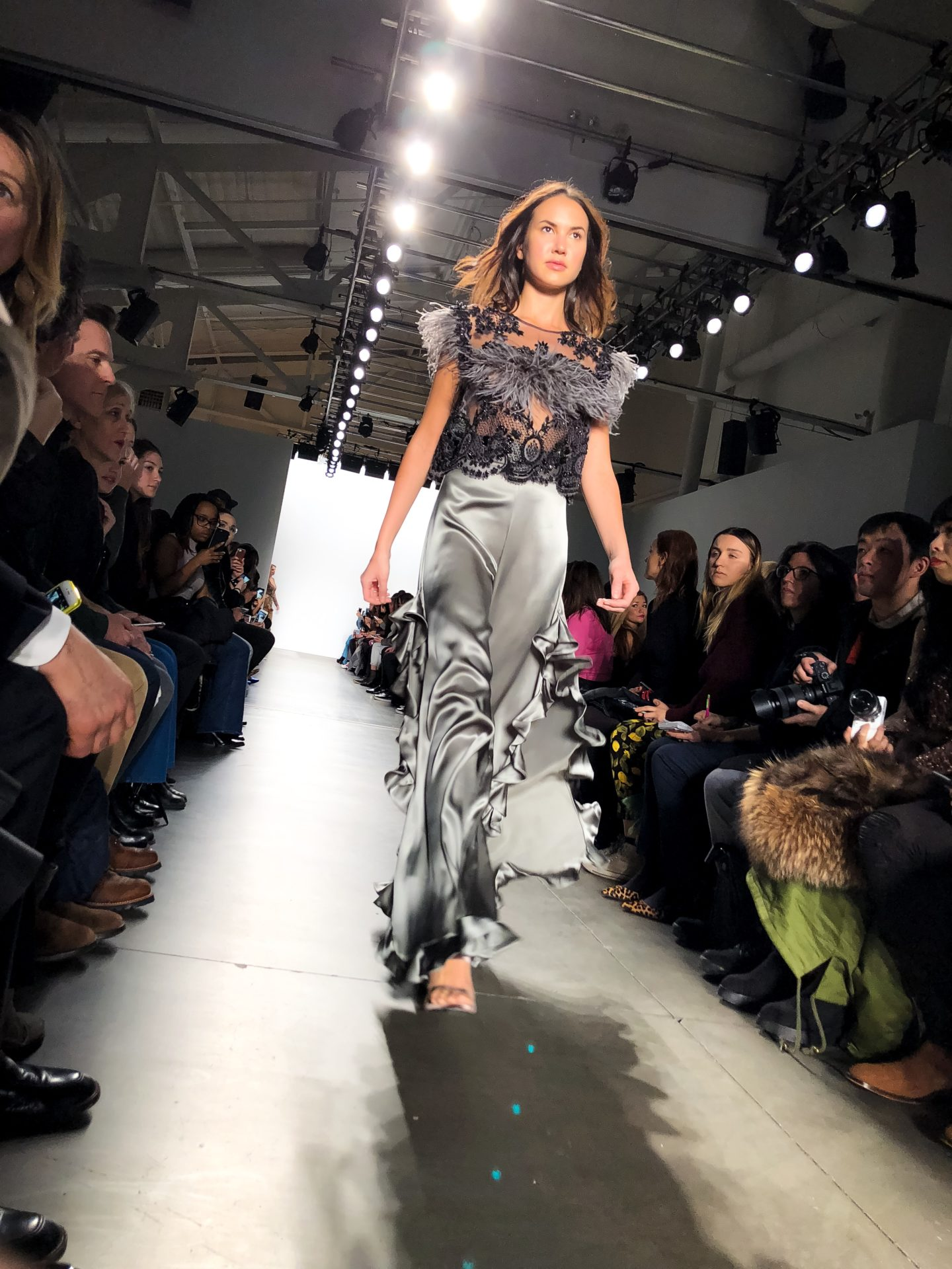 Stella Nolasco New York Fashion Week Belle Meets World